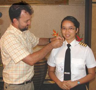 Nicole Chang-Leng becomes first Seychellois woman flight captain-All female Air Seychelles crew flight Thursday August 23