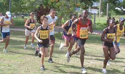The cross-country series will start on Praslin on January 10, 2009