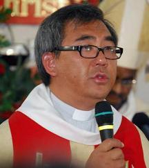 Bishop elect James Wong