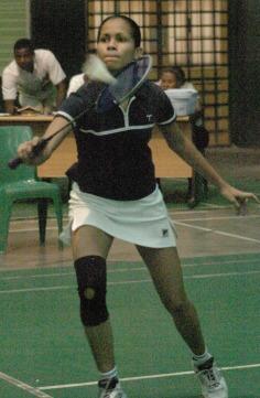 AH-WAN … African singles champion