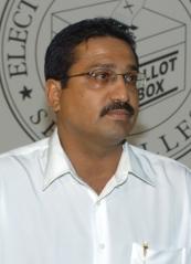 Electoral Commissioner Hendrick Gappy