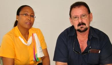 Mrs Hoareau and Mr Burridge will jointly run the new tourism news bureau