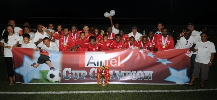 ST MICHEL … three-time Airtel Cup winners