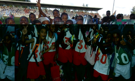 Anse Aux Pins best primary school cup winners