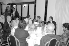 At last Saturday's Banquet. Mr Pool is  first left facing camera