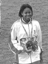 Laporte, médaillée de bronze en heptathlon