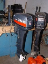 Outboard motors (below 50hp) are among the equipment on which trades tax has been reduced
