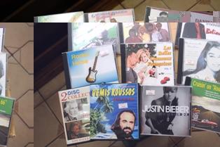 CD's...