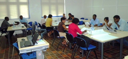 Capacity building workshop at the Seychelles Institute of Management