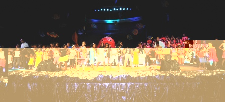A scene from a past Twinkle Twinkle Little Star show