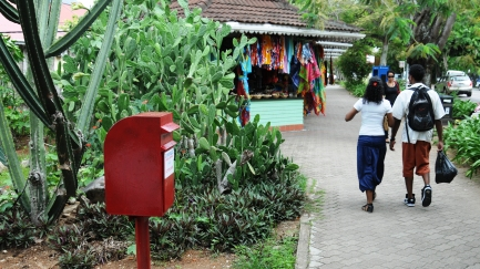 A new post box in town