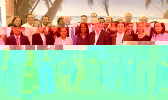 The Seychelles delegation at Top Resa 2011