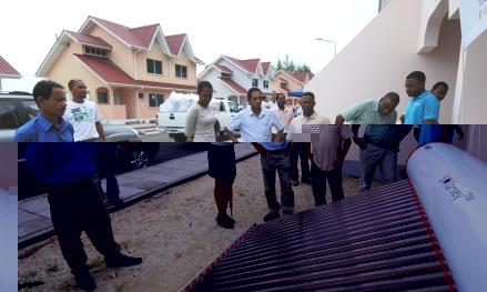 Various devices that promote sustainable eco-friendly homes are being showcased during the open day