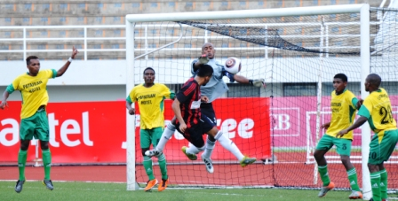 St Michel and La Passe played a 2-2 draw on La Digue on saturday