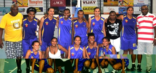 ANSE ETOILE STARS … women's league winners