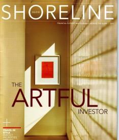The cover of the magazine Shoreline