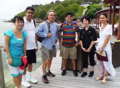 The Singapore tour operators in Seychelles