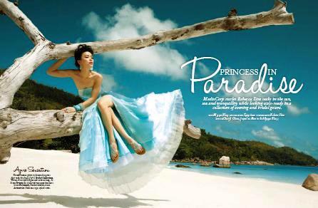 'Photo shoot highlights Seychelles' unique beauty