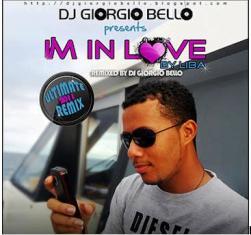 Kouvertir CD ki annan sanson I'm in love par Liba ki Dj Giorgio Bello in remix