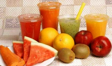 Fresh juices are both nourishing and cleansing