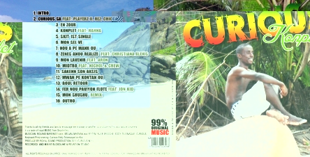 Clency's first solo album -- Curious Konplet -- was released in August 2011