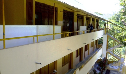 The Bel Ombre primary school where Glacis primary students from P1- P6 will be accommodated