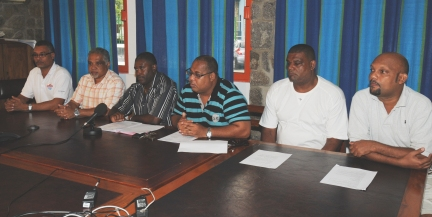 Friday's press conference to launch the first local music award