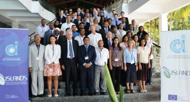 Group photo of the delegates at the January 24-27 workshop in Mauritius
