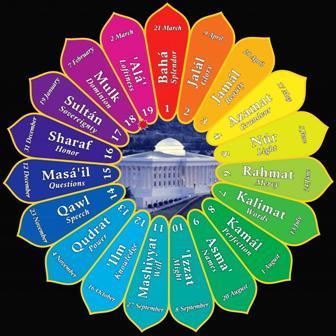 The Bahá'í calendar