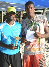 Men's winners Lozaique and Sophola