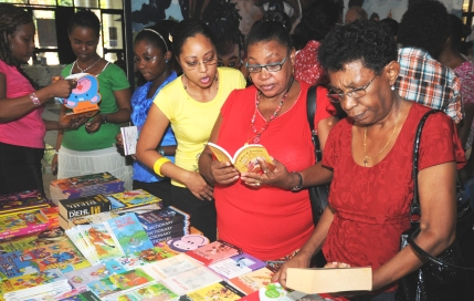 The book fair is to enable the general public to have access to a variety of reading resources