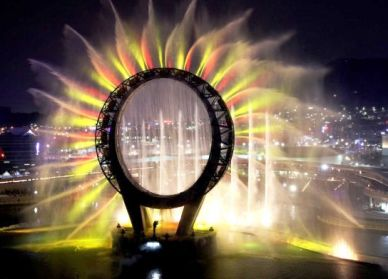 The Yeosu Expo is the first world expo to be held on the water with the ocean as its venue