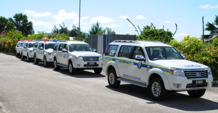 The new vehicles will give a boost to the fight against crime