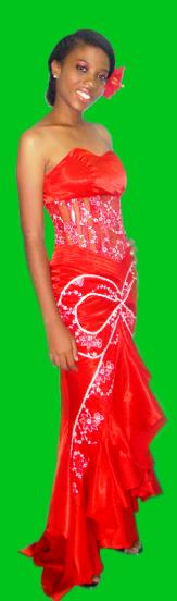 Monica Désir is representing Seychelles at the Miss Deaf Africa beauty pageant in Cape Town, South Africa