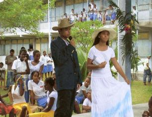 Cultural activities animated by students at the school