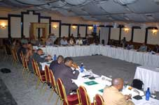 The opening session of the workshop on Monday