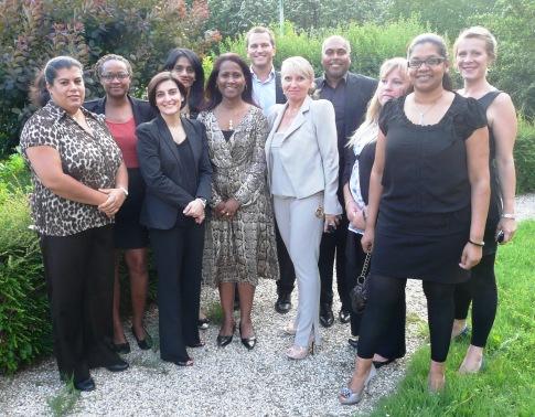 The Seychelles delegation