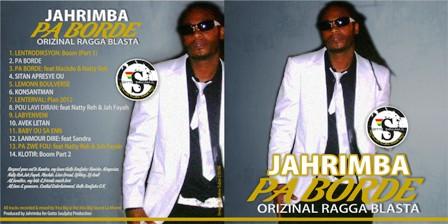 The cover of Jahrimba's latest album Pa Borde
