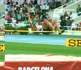 Labiche clears 1.88m for the Seychelles record and the silver medal