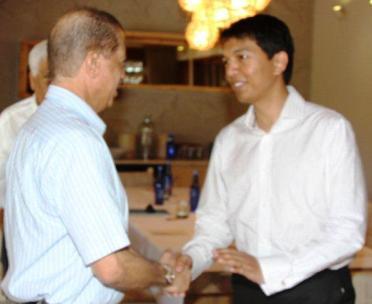 Le Président Michel accueille le Président de la Transition malgache Andry Rajoelina