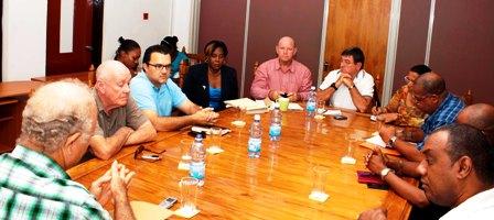 The meeting between Sacs and SHTA representatives