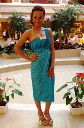Miss Seychelles...Another World 2012 Sherlyn Furneau will compete in today's Miss World 2012