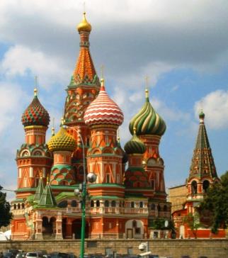 Saint Basil church Kremlin
