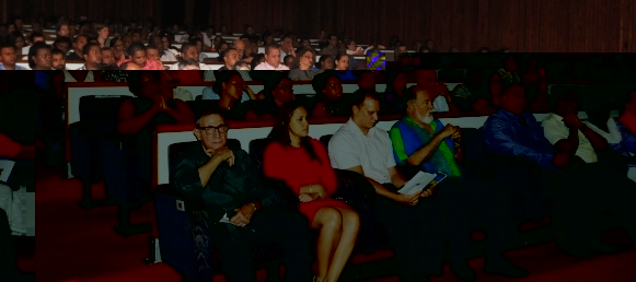 The audience at the launch ceremony