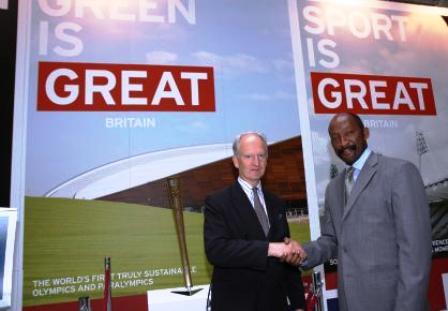 Minister meriton meets Minister Bellingham