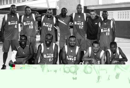 PLS HAWKS … Men's division one champions