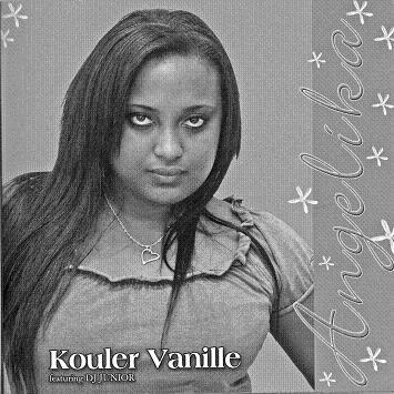 L'album 'Kouler Vanille' est le premier produit par Angelika