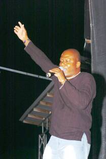Jean-Marc strutting his stuff in a past concert. The artist will perform live during this year's Festival Kreol