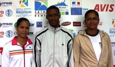 De gauche à droite : Ah-Wan, Ghislain et Camille