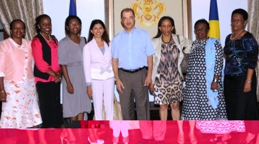 M. Michel a reçu les membres de la plateforme femmes en politique de l'Océan Indien